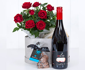 Flowers & Wine. Shop in Ukrainian Marriage Agency.