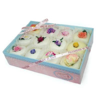 Patisseries in gift box. Shop in Ukrainian Marriage Agency.