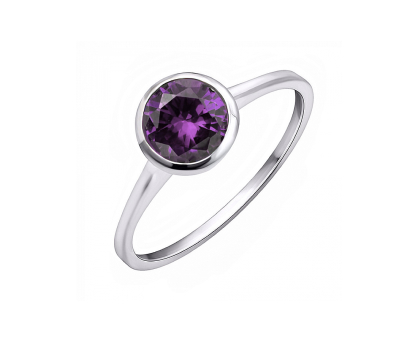 Purple Delight Ring. Shop in Ukrainian Marriage Agency.
