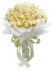 Candy Bouquet Tenderness. Shop in Ukrainian Marriage Agency.