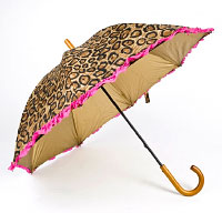 The leopard umbrella. Shop in Ukrainian Marriage Agency.