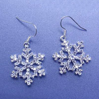 Christmas Earrings set. Shop in Ukrainian Marriage Agency.