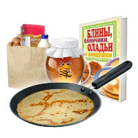 Set for baking pancakes. Shop in Ukrainian Marriage Agency.