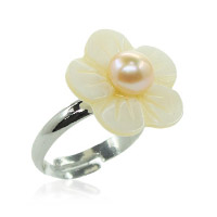 Flower ring. Shop in Ukrainian Marriage Agency.