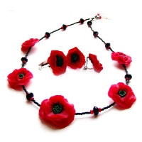 Adornment set «Spring». Shop in Ukrainian Marriage Agency.