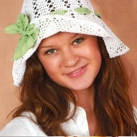 Summer hat. Shop in Ukrainian Marriage Agency.
