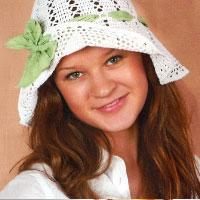 Summer hat. Shop in Ukrainian Marriage Agency.