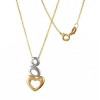 Chain and the pendant in a golden color. Shop in Ukrainian Marriage Agency.