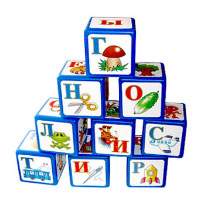 The «ABC» blocks . Shop in Ukrainian Marriage Agency.