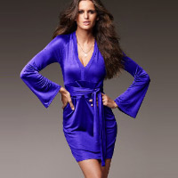 Shimmer Wrap Dress. Shop in Ukrainian Marriage Agency.