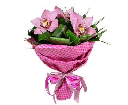 Bouquet of orchids. Shop in Ukrainian Marriage Agency.