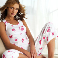 Racerback pajama. Shop in Ukrainian Marriage Agency.