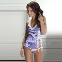 Satin set. Shop in Ukrainian Marriage Agency.