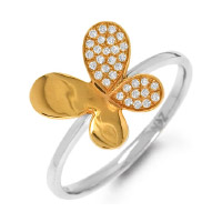 Ring with batterfly. Shop in Ukrainian Marriage Agency.