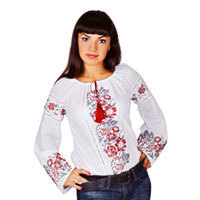 Ukrainian embroidered shirt «Wyshywanka». Shop in Ukrainian Marriage Agency.