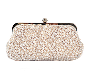 Pearl clutch purse. Shop in Ukrainian Marriage Agency.