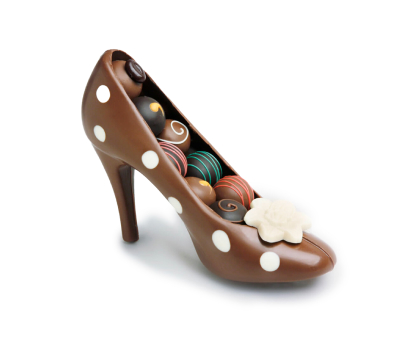 Chocolate shoe. Shop in Ukrainian Marriage Agency.