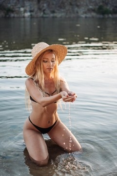Svetlana from Zaporozhye 38 years - girl for marriage. My small primary photo.