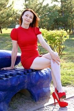 Svetik from Zaporozhye 41 years - beautiful woman. My small primary photo.