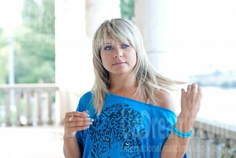 Natasha from Cherkasy 34 years - bride for you. My small public photo.