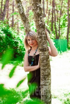 Natasha from Cherkasy 36 years - search for love. My small public photo.