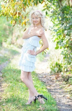 Vira from Ivanofrankovsk 34 years - eyes lakes. My small public photo.