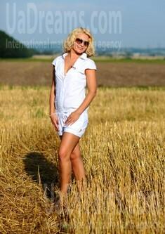 Elvira from Ivanofrankovsk 35 years - nice smile. My small public photo.