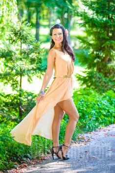 Elvira from Ivanofrankovsk 36 years - eyes with love. My small public photo.