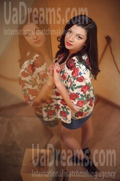 Alina from Ivanofrankovsk 25 years - ukrainian bride. My small public photo.