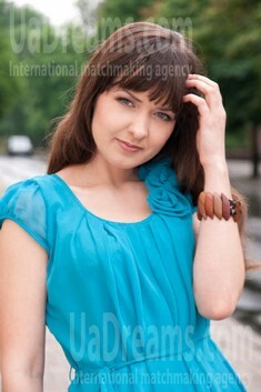 Olga from Donetsk 28 years - future wife. My small public photo.