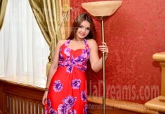 Dina from Rovno 25 years - seeking soulmate. My small public photo.