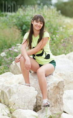 Larysa from Ivanofrankovsk 25 years - seeking soulmate. My small public photo.