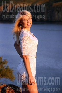 Natalie from Zaporozhye 29 years - Kind-hearted woman. My small public photo.