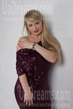 Irina from Cherkasy 35 years - favorite dress. My small public photo.