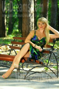 Irina from Cherkasy 35 years - on a summer outing. My small public photo.