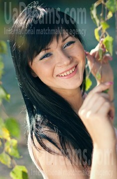 Innochka from Rovno 21 years - bright smile. My small public photo.