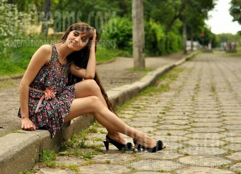 Svitlana from Rovno 25 years - natural beauty. My small public photo.