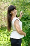 Galya from Ivanofrankovsk 26 years - on a summer outing. My small primary photo.