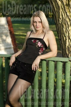 Julia from Cherkasy 34 years - searching life partner. My small public photo.