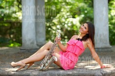 Anastasia from Nikolaev 20 years - sunny smile. My small public photo.