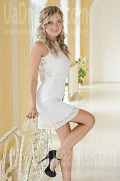 Lenochka from Nikolaev 24 years - nice smile. My small public photo.