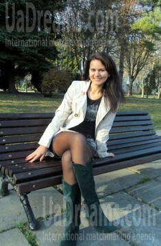 Liuda from Rovno 31 years - bright smile. My small public photo.