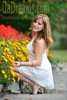 Lena from Sumy 26 years - bright smile. My small public photo.
