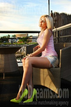 Yana from Dnepropetrovsk 28 years - look for a man. My small public photo.