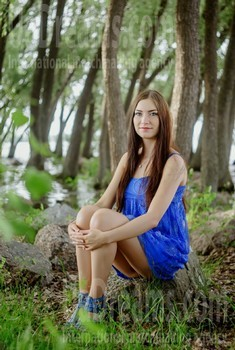 Anna from Cherkasy 20 years - clever beauty. My small public photo.