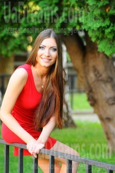 Anna from Cherkasy 21 years - happy woman. My small public photo.