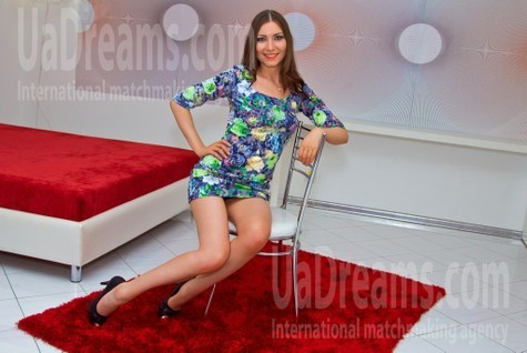 Anna from Cherkasy 22 years - joy and happiness. My small public photo.