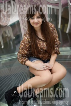 Zoryana from Ivanofrankovsk 19 years - Kind-hearted woman. My small public photo.