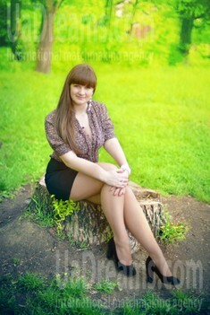 Zoryana from Ivanofrankovsk 19 years - sunny day. My small public photo.