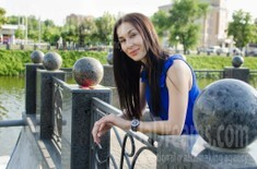 Eugenia from Kharkov 34 years - eyes with love. My small public photo.